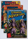 Golden Age (1938-1955):Science Fiction, Strange Adventures Group (DC, 1950-60) Condition: Average FR....(Total: 10 Comic Books)