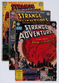 Golden Age (1938-1955):Science Fiction, Strange Adventures Group (DC, 1950-63) Condition: Average GD-....(Total: 9 Comic Books)