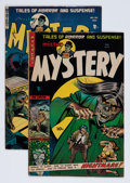 Golden Age (1938-1955):Science Fiction, Mister Mystery #14 and 15 Group (Aragon, 1954).... (Total: 2 ComicBooks)