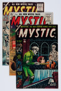 Golden Age (1938-1955):Horror, Mystic Group (Atlas, 1953-55) Condition: Average FN-.... (Total: 6Comic Books)