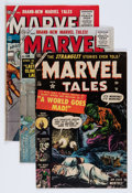 Golden Age (1938-1955):Horror, Marvel Tales Group (Atlas, 1953-55) Condition: Average VG....(Total: 4 Comic Books)