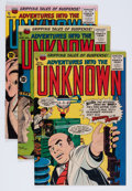 Golden Age (1938-1955):Horror, Adventures Into The Unknown Group (ACG, 1955-60) Condition: AverageFN-.... (Total: 13 Comic Books)
