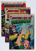 Golden Age (1938-1955):Horror, Adventures Into The Unknown Group (ACG, 1951-53) Condition: AverageVG+.... (Total: 5 Comic Books)