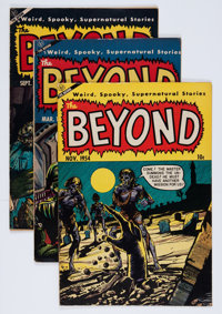 The Beyond Group (Ace, 1952-54).... (Total: 5 Comic Books)