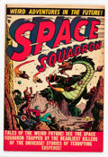 Golden Age (1938-1955):Science Fiction, Space Squadron #4 (Atlas, 1951) Condition: FN....