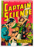 Golden Age (1938-1955):Science Fiction, Captain Science #6 (Youthful Magazines, 1951) Condition: VG+....