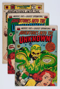 Golden Age (1938-1955):Horror, Adventures Into The Unknown Group (ACG, 1952-54) Condition: AverageVG+.... (Total: 5 Comic Books)