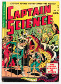 Golden Age (1938-1955):Science Fiction, Captain Science #5 (Youthful Magazines, 1951) Condition: VG/FN....