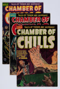 Golden Age (1938-1955):Horror, Chamber of Chills #16 and 20-22 Group (Harvey, 1953) Condition:Average VG.... (Total: 4 Comic Books)
