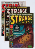 Golden Age (1938-1955):Science Fiction, Strange Tales Group (Atlas, 1953-60) Condition: Average VG....(Total: 6 Comic Books)