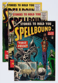 Golden Age (1938-1955):Horror, Spellbound Group (Atlas, 1954-57) Condition: Average VG.... (Total:6 Comic Books)