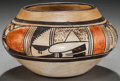 American Indian Art:Pottery, A HOPI POLYCHROME BOWL. c.1920...