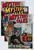 Golden Age (1938-1955):Horror, Mystery Tales Group (Atlas, 1954-57) Condition: Average VG/FN....(Total: 8 Comic Books)