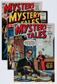 Mystery Tales Group (Atlas, 1954-57) Condition: Average VG/FN.... (Total: 8 Comic Books)