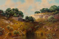 Texas:Early Texas Art - Regionalists, A.D. GREER (American, 1904-1998). Texas Landscape. Oil oncanvas. 24 x 36 inches (61.0 x 91.4 cm). Signed lower right: ...