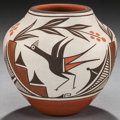 American Indian Art:Pottery, A ZIA POLYCHROME JAR. Eusebia Shije ...