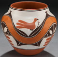 American Indian Art:Pottery, A LAGUNA POLYCHROME JAR. Gladys Paquin...