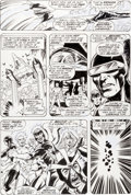 Original Comic Art:Panel Pages, Dave Cockrum Giant-Size X-Men #1 Page 23 Original Art(Marvel, 1975)....
