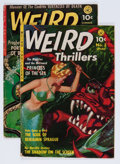 Golden Age (1938-1955):Horror, Weird Thrillers #3 and 4 Group (Ziff-Davis, 1952) Condition:Average VG.... (Total: 2 Comic Books)