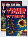 Golden Age (1938-1955):Horror, Tomb of Terror #13 and 16 Group (Harvey, 1954).... (Total: 2 ComicBooks)