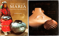 24 BOOKS ON SOUTHWEST POTTERY AND KACHINA DOLLS