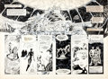Original Comic Art:Panel Pages, John Totleben Miracleman #13 Pages 6 and 7 Original Art(Eclipse, 1987)....
