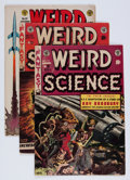 Golden Age (1938-1955):Science Fiction, Weird Science/Weird Science-Fantasy Group (EC, 1953-55) Condition:Average VG+.... (Total: 4 Comic Books)
