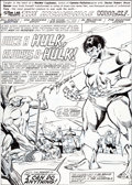 "Original Comic Art:Complete Story, Sal Buscema Incredible Hulk #273 Complete 22-page Story""Once a Hulk, Always a Hulk"" Original Art (Marvel, 1982)....(Total: 23 Items)"