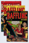 Golden Age (1938-1955):Horror, Baffling Mysteries Group (Ace, 1952-55) Condition: Average VG+....(Total: 6 Comic Books)