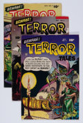 Golden Age (1938-1955):Horror, Beware Terror Tales #2, 4, and 8 Group (Fawcett Publications,1952-53).... (Total: 3 Comic Books)