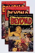 Golden Age (1938-1955):Horror, The Beyond Group (Ace, 1952-54) Condition: Average VG/FN....(Total: 9 Comic Books)