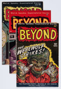 Golden Age (1938-1955):Horror, The Beyond Group (Ace, 1950-52).... (Total: 5 Comic Books)