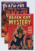Golden Age (1938-1955):Horror, Black Cat Mystery #33, 44, and 46 Group (Harvey, 1952-53)....(Total: 3 Comic Books)