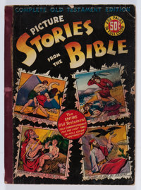 Picture Stories from the Bible: Complete Old Testament - First Edition (DC, 1943) Condition: GD