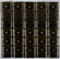 Books:Fine Bindings & Library Sets, Woodrow Wilson. A History of the American People. Harper, 1903. Later edition. Five octavo volumes. Bindings wor... (Total: 5 Items)