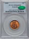 Lincoln Cents: , 1909 1C MS66 Red PCGS. CAC. PCGS Population (489/63). NGC Census:(340/10). Mintage: 72,702,616. Numismedia Wsl. Price for ...