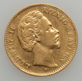 German States:Bavaria, German States: Bavaria. Ludwig II gold 10 Mark 1875D,...