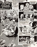 Original Comic Art:Panel Pages, Brian Bolland 2000 A.D. Program #86 Page 4 Original Art(Fleetway, 1978)....