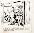 Original Comic Art:Panel Pages, Hal Foster Prince Valiant Panel Original Art (King FeaturesSyndicate, 1964)....