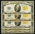 Small Size:World War II Emergency Notes, Fr. 2309 $10 1934A North Africa Silver Certificates. Five Examples. Fine-Very Fine or Better.. ... (Total: 5 notes)