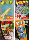 Pulps:Science Fiction, Astounding Stories - H. P. Lovecraft Group (Street & Smith,1936) Condition: Average VG+.... (Total: 4 Items)