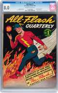 Golden Age (1938-1955):Superhero, All-Flash #1 (DC, 1941) CGC VF 8.0 Off-white to white pages....