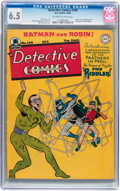Golden Age (1938-1955):Superhero, Detective Comics #140 (DC, 1948) CGC FN+ 6.5 Off-white to white pages....