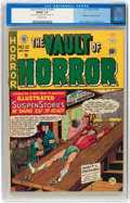 Golden Age (1938-1955):Horror, Vault of Horror #12 (#1) (EC, 1950) CGC FN/VF 7.0 Off-whitepages....