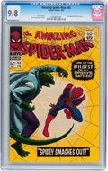 Silver Age (1956-1969):Superhero, The Amazing Spider-Man #45 (Marvel, 1967) CGC NM/MT 9.8 Whitepages....