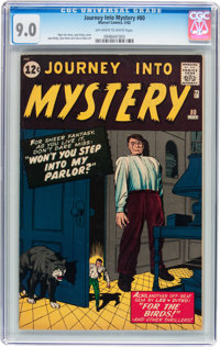 Journey Into Mystery #80 (Marvel, 1962) CGC VF/NM 9.0 Off-white to white pages