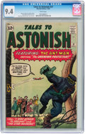 Silver Age (1956-1969):Superhero, Tales to Astonish #37 (Marvel, 1962) CGC NM 9.4 White pages....