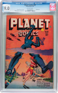Golden Age (1938-1955):Science Fiction, Planet Comics #48 (Fiction House, 1947) CGC VF/NM 9.0 Off-whitepages....