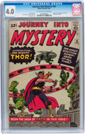 Silver Age (1956-1969):Superhero, Journey Into Mystery #83 (Marvel, 1962) CGC VG 4.0 Off-white towhite pages....