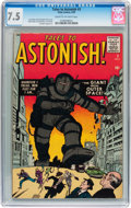 Silver Age (1956-1969):Mystery, Tales to Astonish #3 (Marvel, 1959) CGC VF- 7.5 Cream to off-whitepages....